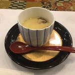 49578209 - ちらし ¥1,000 に付く茶碗蒸し
