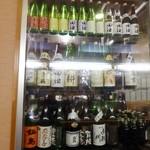 串の坊 - 日本酒のセラーが完備されています