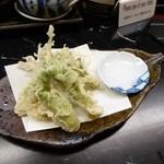串の坊 - たらの芽の天ぷら