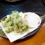 串の坊 - こしあぶらの天ぷら
