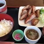 喫茶ロータス - ミルフィーユカツランチ600円