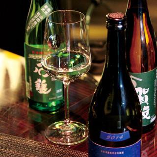 日本酒が常時70銘柄以上