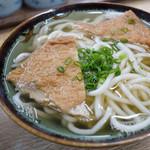 柳川 - 程よい甘さのお揚げでした。
