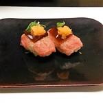 nihonryourioosakakourimbou - 肉のにぎり