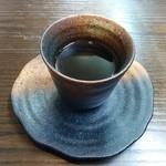 小鍋居酒屋 三二五 - 日替定食のコーヒー