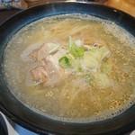我がや - 塩ラーメン選択しました 無化調スープです