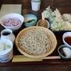 梨俊 - 料理写真:蕎麦セット。内容は非常に充実しています。