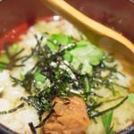 ウオツネ - お茶漬け(梅)【2016年1月】