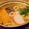 山半 - 料理写真:松山名物鍋焼きうどん【2016年1月】