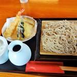 お食事処 小間子 - 料理写真:天せいろ(大盛)(16-04)