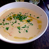 Brasserie Blanc - 料理写真:スターター:Cream of Haricot Bean Soup with Rosemary Oil