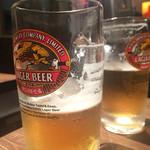 鳥三 - 生ビールはキリン