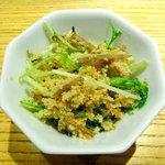 純正コラーゲンスープ店 - 水菜と卯の花のサラダ