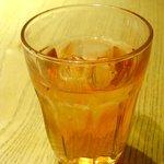 純正コラーゲンスープ店 - 柿の葉茶