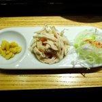純正コラーゲンスープ店 - 鶏飯の薬味