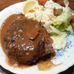 レストラン艸葉 - ハンバーグステーキ えび1尾