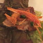 KollaBo - サムギョプサル、野菜で巻いて