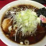ラーメンつり吉 - ネギラーメン 細麺 ¥750