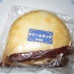 ふくや菓子店 - 2016年のクリームサンド130円