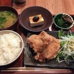 柳町 - 唐揚げ定食