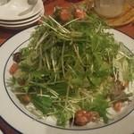 パウワウ8ネイチャーズダイナー - サラダだけど、中には麺が隠れてました