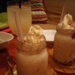 パウワウ8ネイチャーズダイナー - ドリンクのアイスが美味しい!