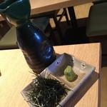 魚我志 むさし - ランチのむさし御膳 天ぷら付き(1,500円)の出汁2016年3月