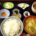 49599937 - 朝市の日限定 朝定食500円!