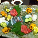 Shuntarou - 2010.9.1訪問 刺身の盛り合わせ
