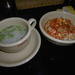 49601874 - ランチスープ&サラダ♪