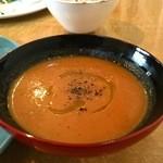 カラコマ - 定食のスープ