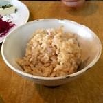 カラコマ - 玄米ご飯