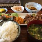 エスポワール - 料理写真:日替り定食(焼肉)