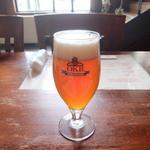 オホーツクビアファクトリー - ビール エールろ過前 グラス