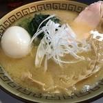 らぁ麺 しろがね - 鶏コテらぁ麺(税込800円)+味玉(税込110円)