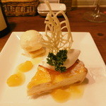 Bistrot glouton - オレンジのチーズタルト16.3下旬