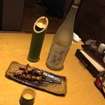 49603426 - 高田屋 倉敷中庄店(岡山県倉敷市二子)燦然 木村式 奇跡のお酒 純米吟醸(1合)980円