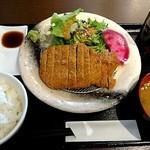 gyuukatsutonkatsujojokichi - 牛かつ膳140g 1,450円