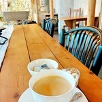 ミオン ガーデンカフェ - お食事にセットのコーヒー 2016/04