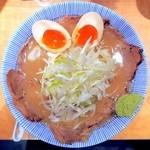 四代目ねかし - 山葵がキレる肉そば「粋」¥860→¥430+玉子¥100