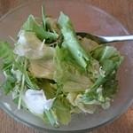 ピッツァカフェ・ロケット - 料理写真:サラダ(たまねぎドレッシング)