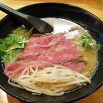 道玄 - チャーギュウ麺濃厚白湯醤油  980円