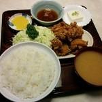 49617336 - 鶏から揚げ定食(680円)