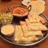 ラリグラス - 料理写真:チーズナンのディナーセット