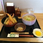 49618009 - 天丼セット(\1,280)