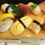 濱鮓 - 日替りにぎり寿司セット ¥950