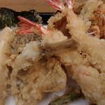 天丼てんや - 桜海老天ぷら定食(海老追加)