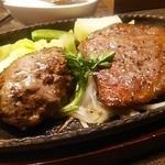 鐵 - Jコンボセットのハンバーグ&ステーキ