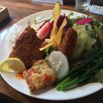 Roji菜園テーブル - 魚フライランチ