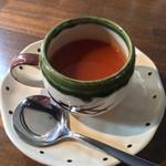 Roji菜園テーブル - にんじんポタージュ